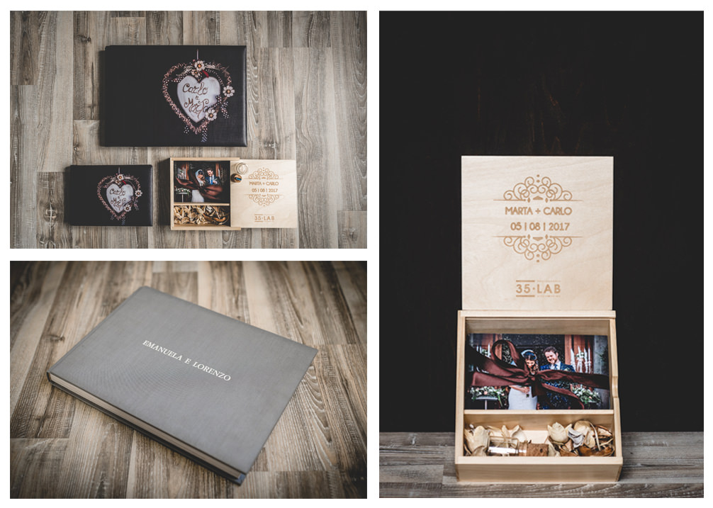 ricordi conservati nel tempo wedding box - album 35labstudio